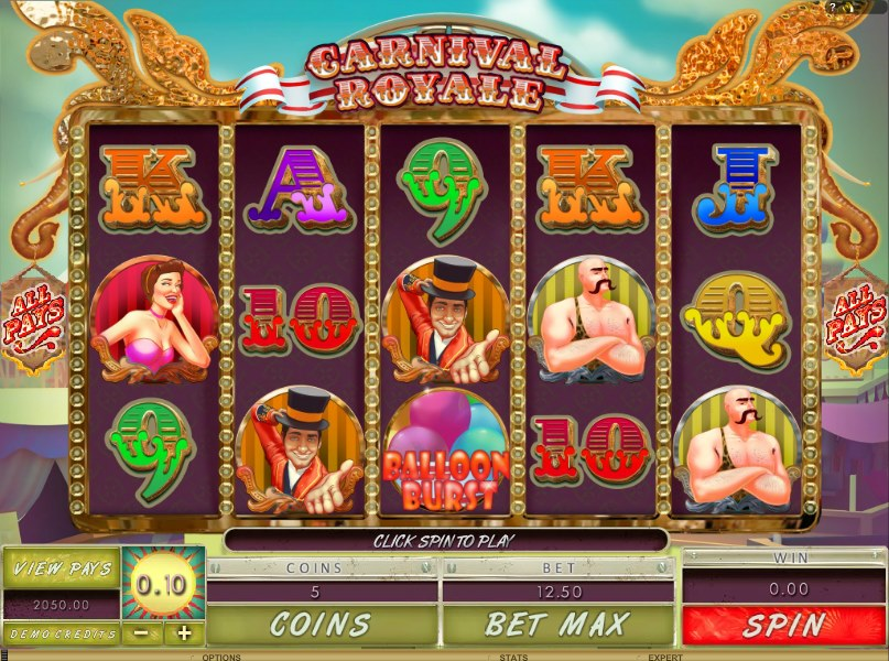 онлайн-слот Carnival Jackpot